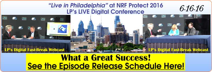 Live LP Interviews at NRF Protect 2016